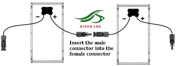 cách nối cáp MC4