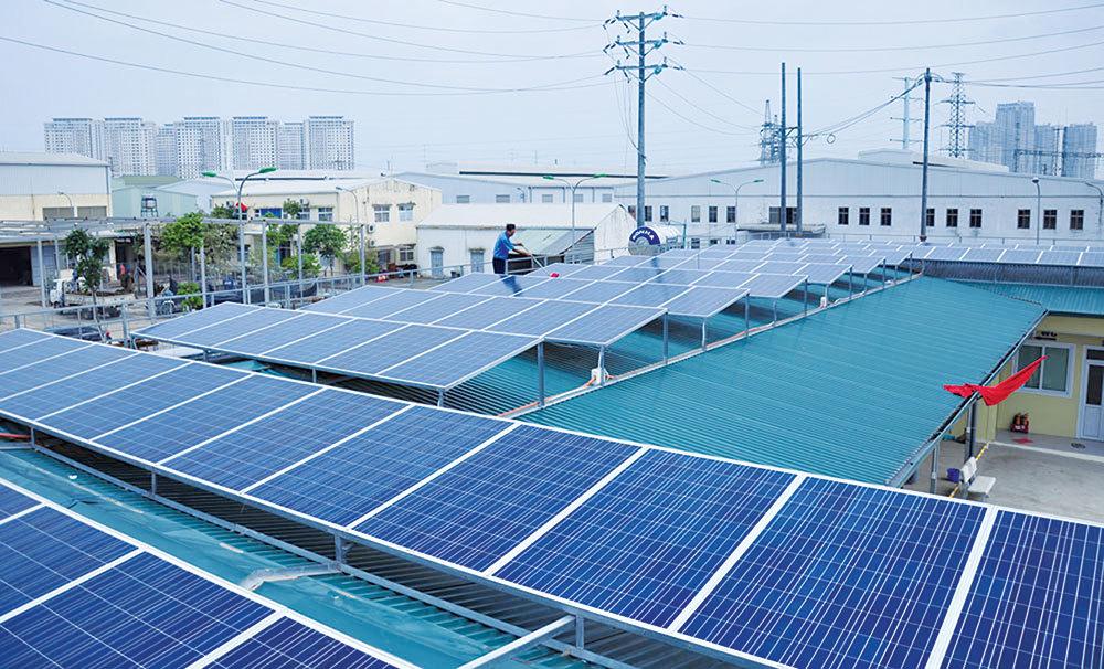 atech - điện mặt trời trên mái nhà